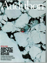 Figure 1: Cover of the Jan-Feb 2016 Issue of Audubon Magazine.